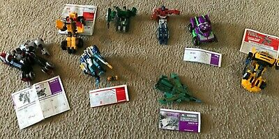Transformers Lot of 8 Figures