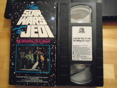RARE OOP From STAR WARS to Jedi VHS film Making of a Saga GEORGE LUCAS 1989 cbs