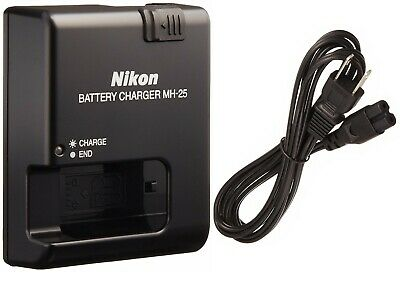 Genuine Original OEM NIKON EN-EL15 Battery Charger MH-25A MH-25  MH25 ENEL15