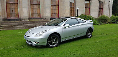 2003 Toyota Celica VVT-i 1.8 6 speed manual 140 - Silver - Low miles - Stunning