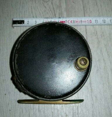 Vintage fly reel made in England Hardy Perfect style dingley son A. Carter Co