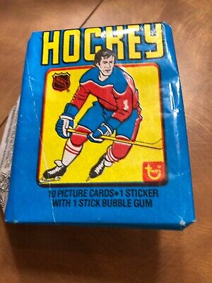 1979 topps hockey wax pack Wrapper Only Beautiful  Gretzky Rookie Year