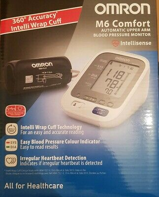 Omron M6 Comfort (HEM-7321-E) Intellisense Upper Arm Blood Pressure Monitor