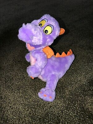 "Disney Parks FIGMENT Epcot Purple Dragon 9"" Plush Doll Imagination Institute"