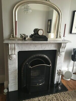 Antique style Victorian Georgian  Overmantel Fireplace mirror
