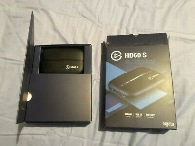Elgato HD60s Capture card with chat link cable included. (used once)