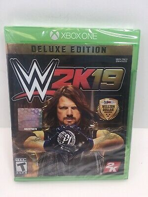 WWE 2K19 Deluxe Edition (Xbox One)  **BRAND NEW FACTORY SEALED**  FREE SHIPPING