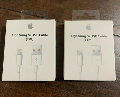 OEM Original Charger For Apple iPhone 7 Plus X 8 6 5 USB Lightning Cable Genuine