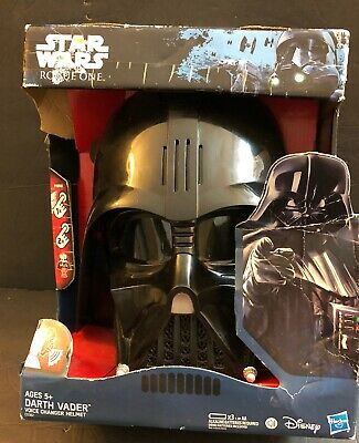 NEW Star Wars - Rogue One - Electronic DARTH VADER VOICE CHANGER HELMET NIB