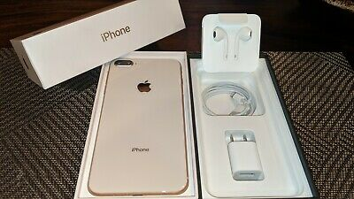 Apple iPhone 8 Plus 256GB A1897 Gold Works with AT&T & Cricket Mint Condition