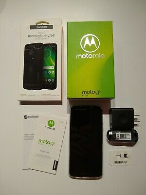 Motorola Moto G Play 6th Generation - 32GB - Deep Indigo (Unlocked) (Single SIM)