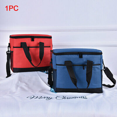 17L Outdoor Activities Cooler Bag Collapsible Insulated Large Capacity Reusable