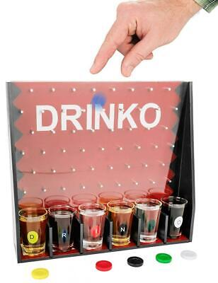 DRINKO Drinking Game - Fairly Odd Novelties - Fun Social Shot Glass Party...