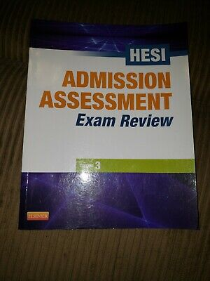 HESI Admission Assessment Exam Review 3rd Edition 2013 Elsevier