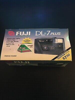 FUJI DL-7 Plus 35mm Compact Camera W/ Fuji Film Super HG Genuine New in Box