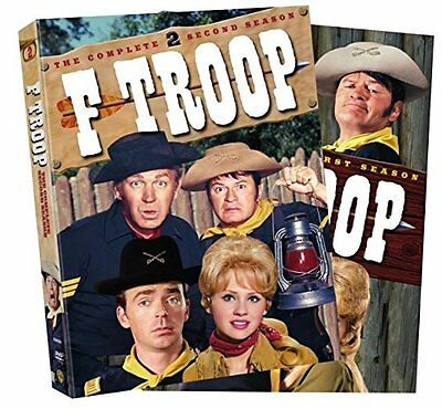 F-Troop The Complete Season 1 & 2 Series DVD Boxset Boxed Set New R4