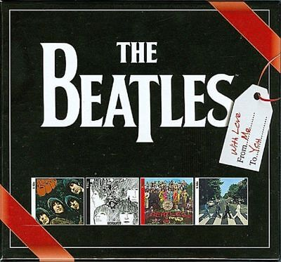 SEALED The Beatles With Love From Me To You Rare 4 CD UK Christmas Box Set