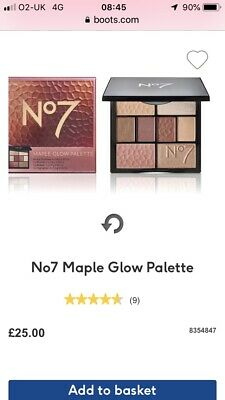 No7 Maple Glow Face Palette BRAND NEW SEALED