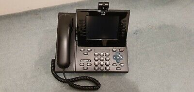 Cisco CP-9971-C-CAM-K9 + CP-PWR-CUBE-4 9971 IP Phone with Camera and Power