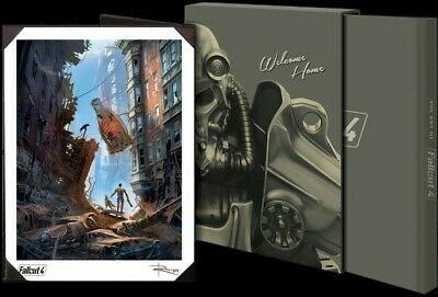 Fallout 4 - The Art of Fallout 4 Limited Edition Hard Cover Book
