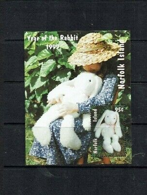 Norfolk Island 1999 Year Of The Rabbit M/S Mnh