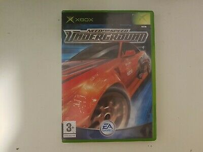 Need for Speed: Underground (Microsoft Xbox, 2003) PAL European COMPLETE