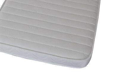 3ft Single Budget Microquilted Memory Foam and Spring Mattress 90cm by 190cm