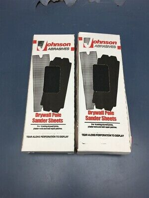 """Lot of 2 Boxes of Johnson Abrasives Smooth-Kut Paper 120-D 4 3/16"""" x 11 1/4"""""""