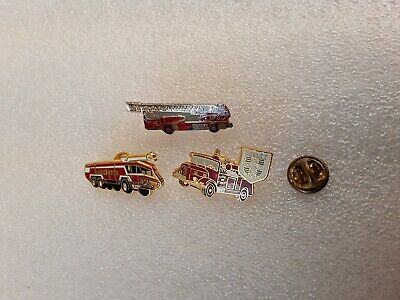 PIN'S PINS  lot camion de pompier 18