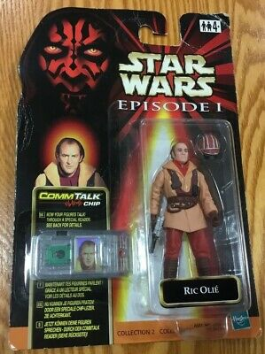 Star Wars, Episode One, RIC OLIE, In Original Unopened Card, 1999,