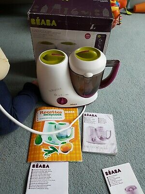 Beaba Babycook 4 In 1 Baby Food Processor Steam Cook Blend - With Rice Cooker