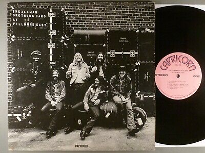 Allman Brothers Band  At Fillmore East   Blues Rock Original Label  Duane Allman