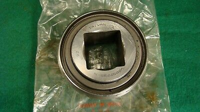 """NOS W209PPB5 nN DZ Agricultural Bearing 1 1/4"""" Square Bore 3 1/4"""" Spherical o d"""