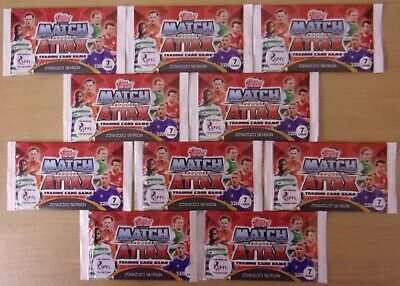 Topps Match Attax SPFL 2019/20 ~ Trading Card  ~ 10 x Sealed Packs = 70 Cards