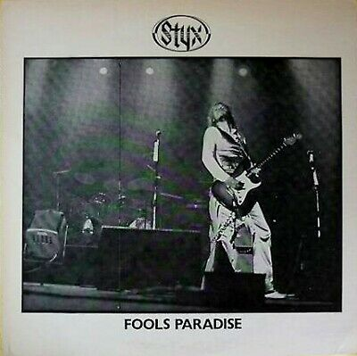 Styx Fools Paradise Rare 1978 Us The Impossible Recordworks Vintage Lp