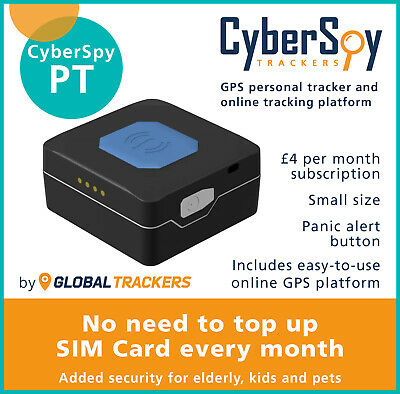 CyberSpy PT Personal GPS Tracker, Pet tracker, Child tracker, Online tracking