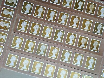 50 X 1St Class Unfranked Stamps Self Adhesive Easy Peel F/V £35