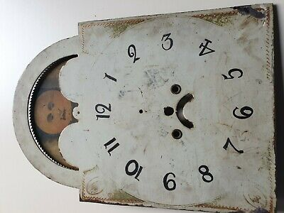 A Longcase grandfather clock 8 day Moon dial, 20 inch by 14 inch