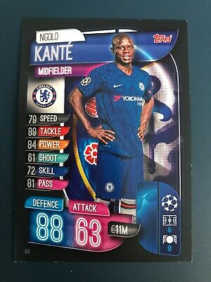 Topps Match Attax 2019/20 #44 Ngolo Kante Chelsea