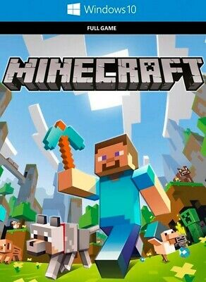 Minecraft PC WINDOWS 10 EDITION (DIGITAL KEY) Multiplayer originale