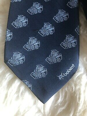 Bobcat Shirt Site Office Work Tie Construction Industry Building Christmas Party