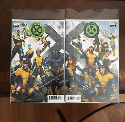 House Of X 4 & Powers Of X 4 Molina Connecting Variants 2019 Marvel Comics