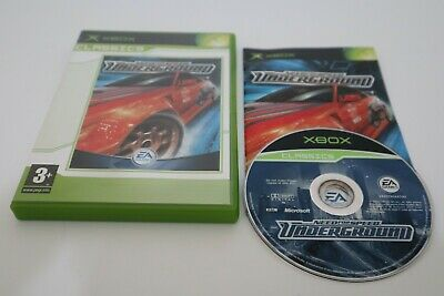 Need for Speed Underground 1 Original Microsoft Xbox Game FREE UK POSTAGE