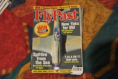 FlyPast Magazine - June 2001 - Duxford T 33 & SR 71, Spitfire from the Sea