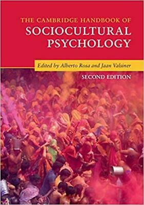 [PDF] The Cambridge Handbook of Sociocultural Psychology 2nd Edition by Alber...