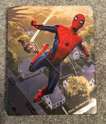 Spider-man Homecoming - 4k , 3D , 2D Blu Ray LD Steelbook No Digital Copy