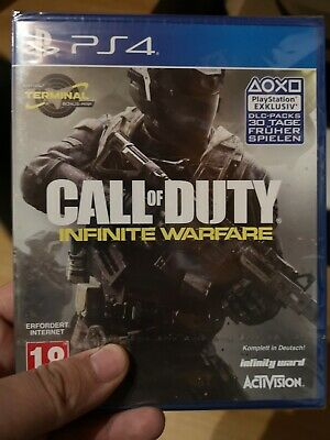 Call of Duty Infinite Warfare CoD Ps4  (NEU & OVP)