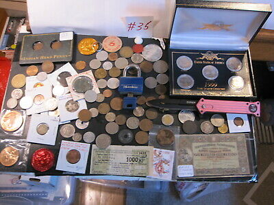 A Super Lot Of Tokens-Medals-Coins & Other Great Collectibles #35