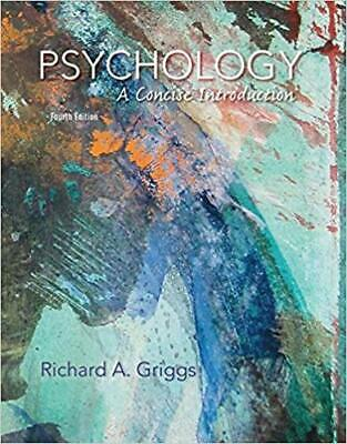 [PDF] Psychology A Concise Introduction Fourth Edition by Richard A. Griggs
