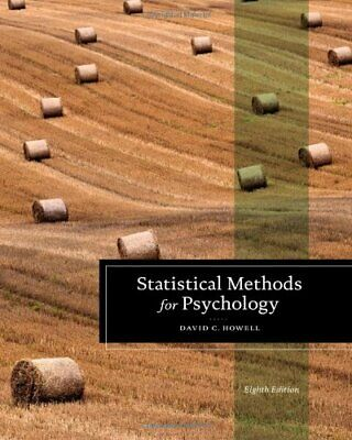 [PDF] Statistical Methods for Psychology 8th Edition by David C. Howell